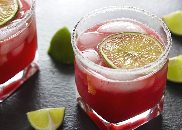 Cranberry Lime Margarita Punch Recipe