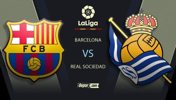 Barcelona vs. Real Sociedad EN VIVO: minuto a minuto por LaLiga