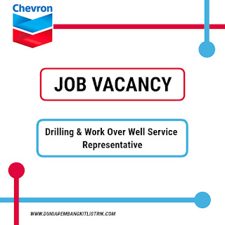 PT Chevron Pacific Indonesia Jobs: Drilling & Work Over Well Service Representative