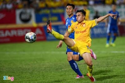 """Video Nam Định 1-0 Quảng Nam: Phút lóe sáng định đoạt """"chung kết ngược"""""""