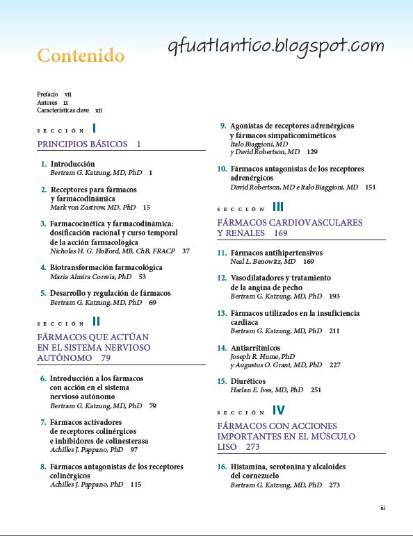 Farmacologia basica y clinica bertram g katzung