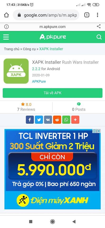 Tải XAPK Installer cho điện thoại Android miễn phí a