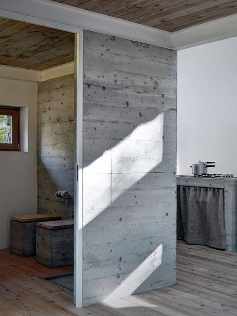 Современные дома. Горный домик в Северной Италии