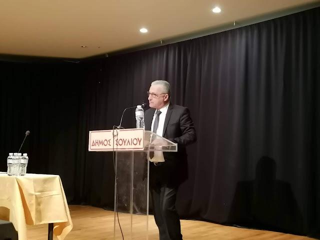 """Θεσπρωτία: Ξαναπήρε """"άριστα"""" ο πρόεδρος του Επιμελητηρίου Θεσπρωτίας Αλέκος Πάσχος"""