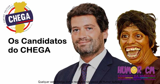 Os candidatos do CHEGA