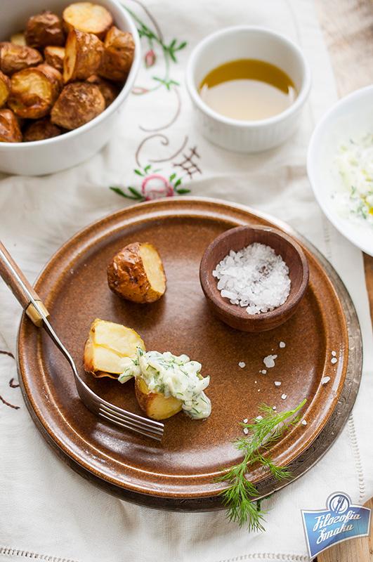 Młode ziemniaki z piekarnika przepis