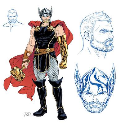 nuevo aspecto de Thor Odinson que luce a partir de The Mighty Thor num.700.