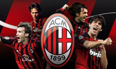 Sejarah AC Milan   Nama Lengkap : Associazione Calcio Milan (AC Milan)  Basis : Milan, Italia  Didirikan : 16 Desember 1899  Julukan : I Rossoneri (Merah-Hitam), Il Diavolo Rosso (Setan Merah), Casciavit (Obeng)  Stadion : San Siro (80.000 kapasitas)  Pemilik : Silvio Berlusconi  Pelatih : Massimiliano Allegri  Warna kostum : Merah-Hitam  Legenda Milan   AC Milan adalah sebuah klub sepak bola yang bermarkas di kota Milan.Dengan seragam berwarna merah hitam bergaris dan celana hitam,sehingga mereka dijuluki Rossoneri(merah hitam).Milan adalah tim tersukses kedua dalam sejarah persepakbolaan Italia dibawah dominasi Juventus.Dengan raihan gelar sebanyak 18 Scudetto dan 5 Coppa Italia. Namun mereka adalah klub Italia tersukses di daratan Eropa,jauh mengungguli Juventus yang merupakan rajanya di kompetisi domestik.Dengan raihan 7 gelar Liga Champions,mereka hanya kalah dari raksasa Eropa Real Madrid.AC Milan mempunyai saudara sekota yaitu Internazionale Milan.Kedua kubu selalu berseteru,hingga dilabeli derbi terpanas di Italia jika kedua klub tersebut saling berhadapan.  Klub ini didirikan pada tahun 1899 dengan nama Kriket dan Sepak bola Milan(Milan Cricket and Football Club)oleh Alfred Edwards,seorang ekspatriat Inggris.Sebagai penghormatan terhadap asal usulnya,Milan tetap menggunakan ejaan bahasa Inggris nama kotanya (Milan) daripada menggunakan ejaan bahasa Italia (Milano). Gelar juara Liga Italia pertama AC Milan