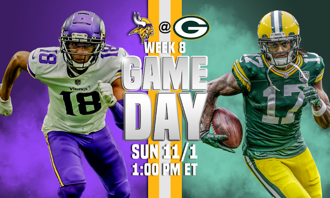Minnesota Vikings versus Green Bay Packers live stream, how to watch, NFL football forecasts, chances, television station, start time
