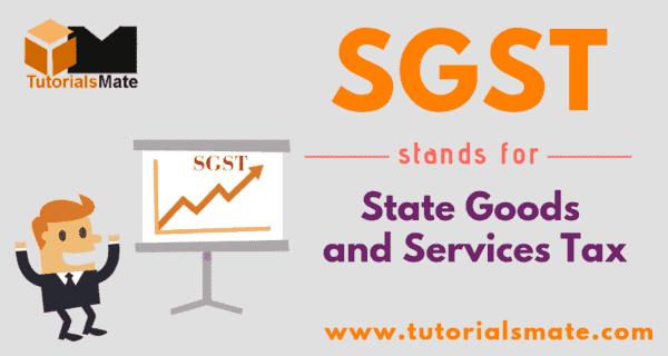 SGST Full Form