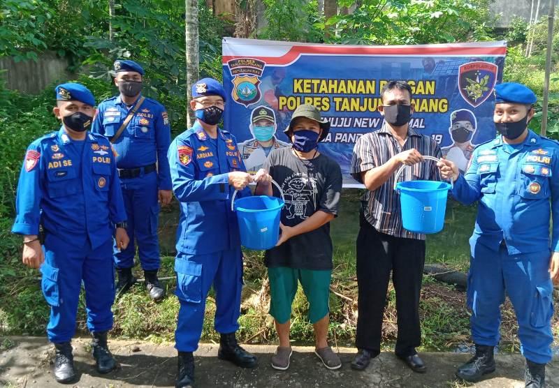 Budidaya Lele Sat Polairud Polres Tanjungpinang Kuatkan Ketahanan Pangan