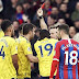 Palace Hold Arsenal As Aubameyang Sees Red