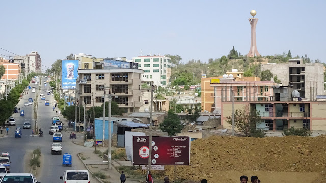 Seen from Mekelle Center