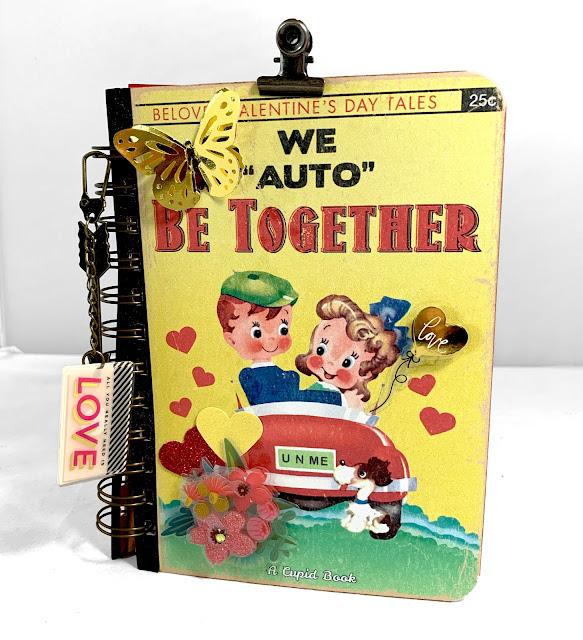 KB and Friends' Retro Valentine's Day Mini Album Cover