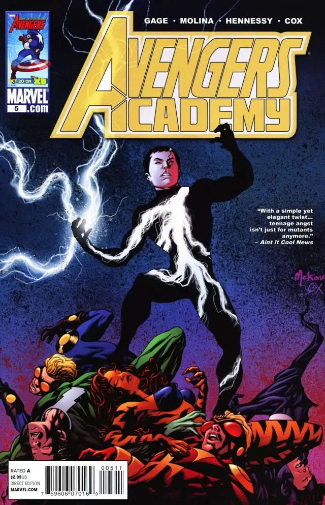 Avengers Academy Issue #5   Episode 5   Igor11 Online