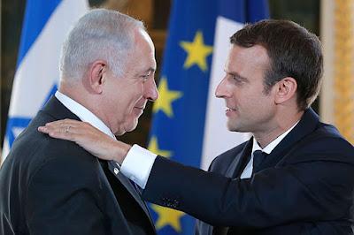 Emmanuel Macron pede retomada de negociações entre Israel e Palestina