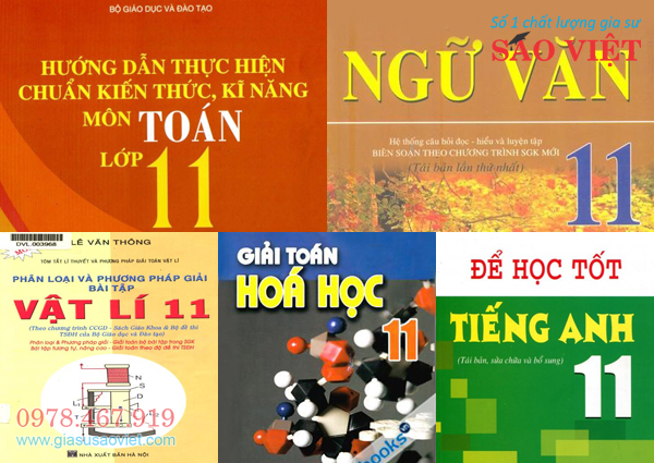 Gia sư lớp 11 chuyên nghiệp dạy kèm tại nhà 5 môn Toán, Văn, tiếng Anh, Lý và Hóa. Đội ngũ gia sư chất lượng lớp 11 Sao Việt đem lại cho học sinh kết quả học tập xuất sắc.