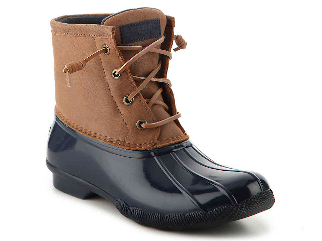 DSW: Sperry Top-Sider Sweetwater Duck Boots only $70 (reg $120) + Free Shipping!