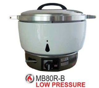 rice cooker bahan bakar gas