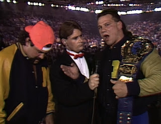 WCW Capital Combat 1990 - Tony Schaivone interviews The Steiner Brothers