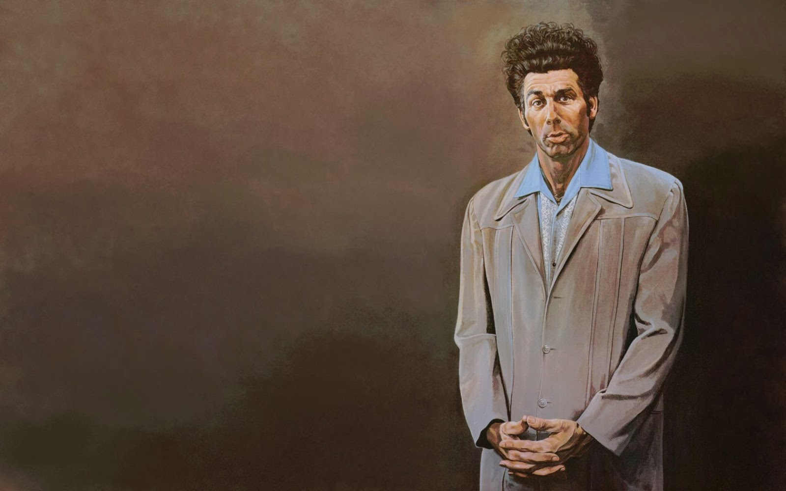 Seinfeld michael richards painting the kramer