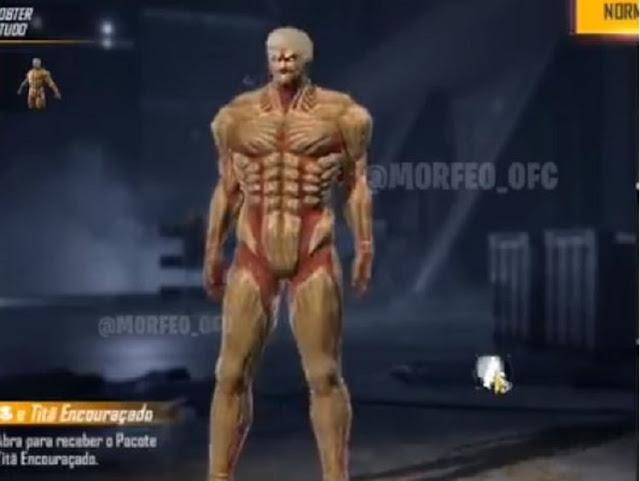 Skin Titan Armor