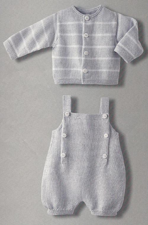 Summer Baby (Cardigan & Babygrow) - Free Pattern
