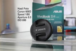 Jual Kamera DSLR Canon EOS 600D Lensa Kit di Malang