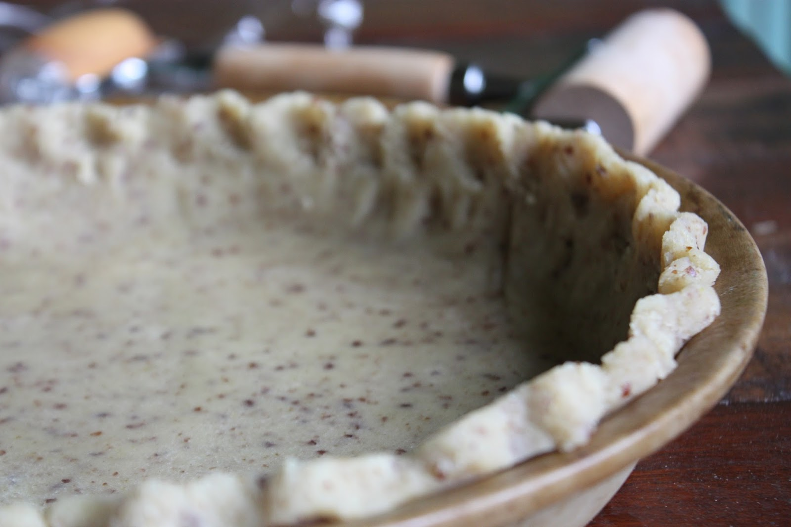 2-Ingredient Pie Crust  Vegan  Grain-free  Oil-free  | Helyn's Plant
