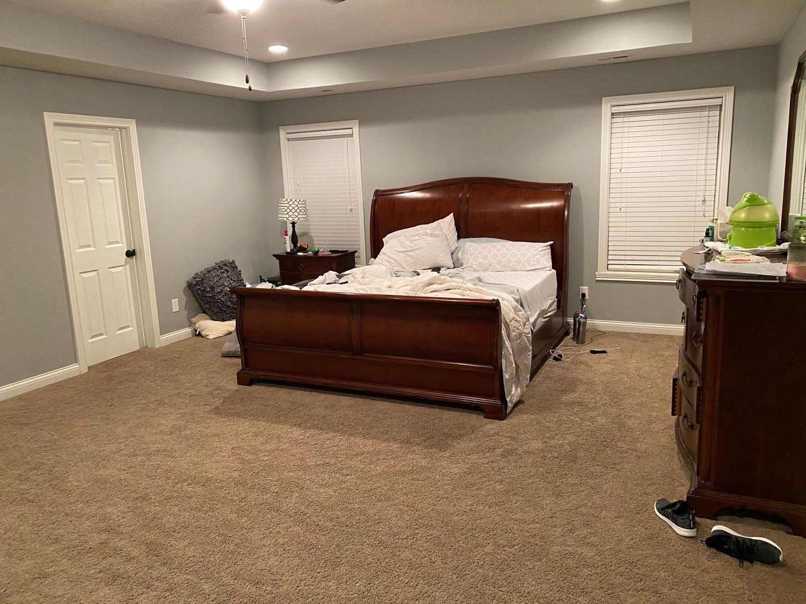 Jen Master Bedroom Before