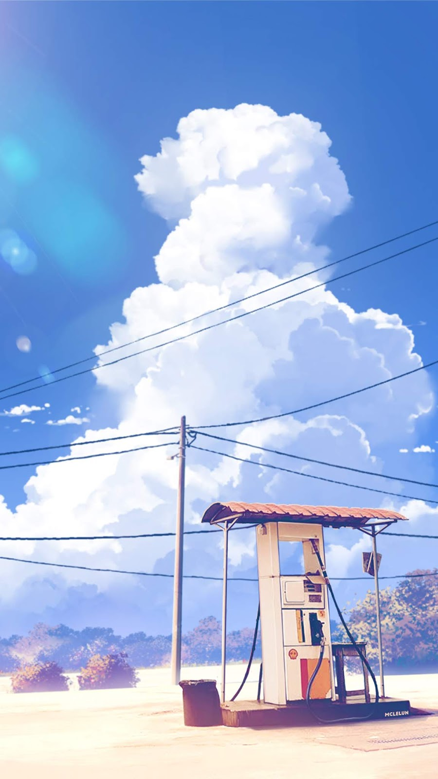 Cloudy scenery