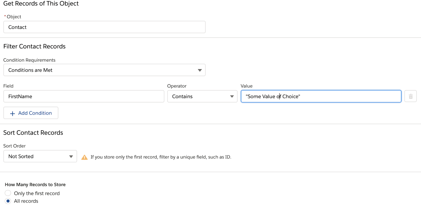 Remove duplicate values from collections in Salesforce Flows