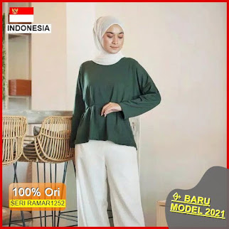 RAMAR1252 NEW SET NAOMI TOP BLOUSE BARU 2021