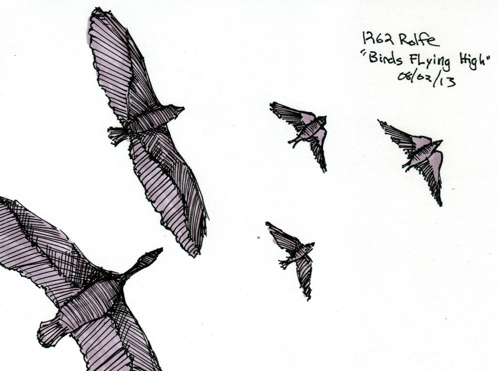 Rolfe Art: 1262 Birds Flying High - photo#16