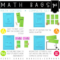 https://www.teacherspayteachers.com/Product/Math-Bags-for-1st-Grade-Math-Centers-for-Collaborative-and-Independent-Use-749488