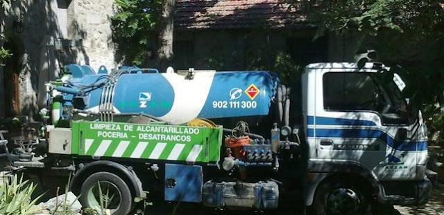 limpieza fosas sépticas camión cuba Madrid ARZAM
