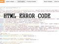 Menghapus Kode HTML Error pada Template