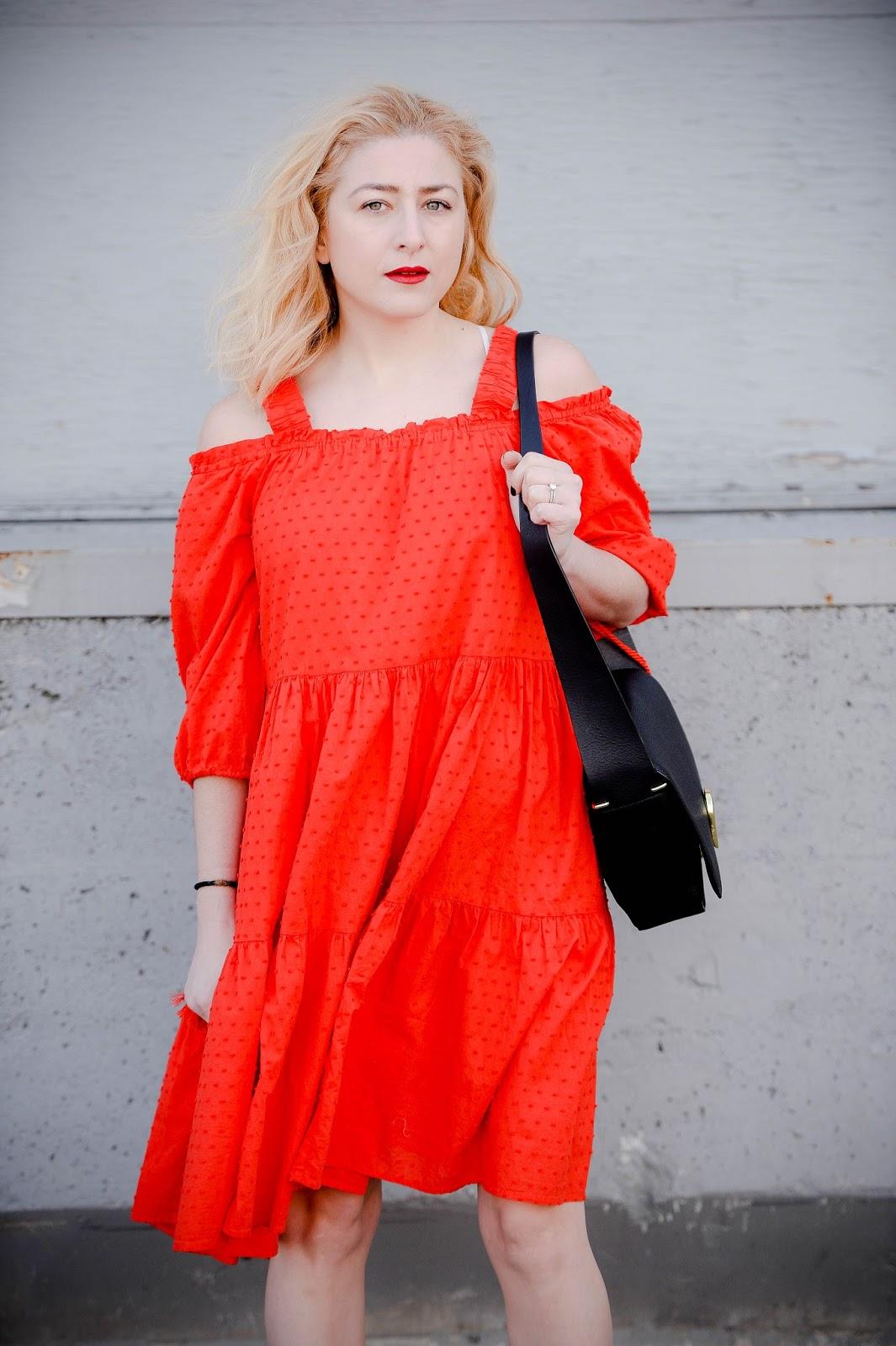 1acf8112b6c9 Off-The-Shoulder Dress | Some Velvet Morning