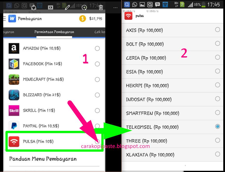 Cara Mendapatkan Uang Gratis Menggunakan Android | Serba ...