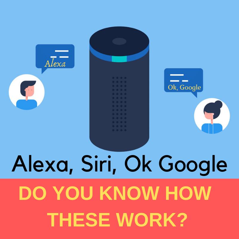 Alexa! OK Google! Hey Siri! - How These Voice Recognition