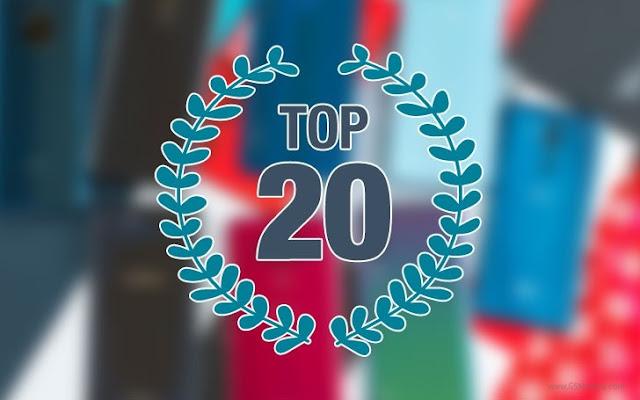 20 smartphones mais populares de 2018