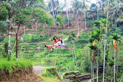 Ni Komang Friska Pradnyayanti di Tunggir Tegalalang