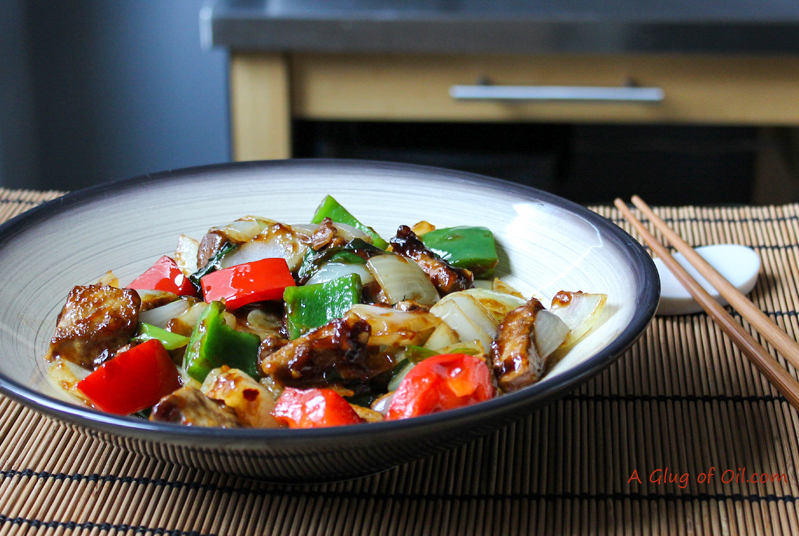 Quorn Spicy Beef and Peppers
