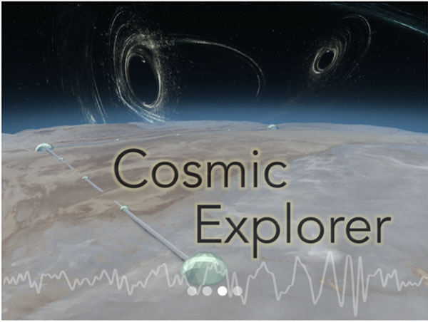 Cosmic Explorer is a planned gravitational wave detector with 40 km arms (Source: CosmicExplorer,org)