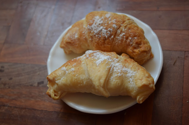 Croissants de Chocolate Blanco