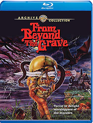 Cover art for Warner Archive's new Blu-ray of FROM BEYOND THE GRAVE!