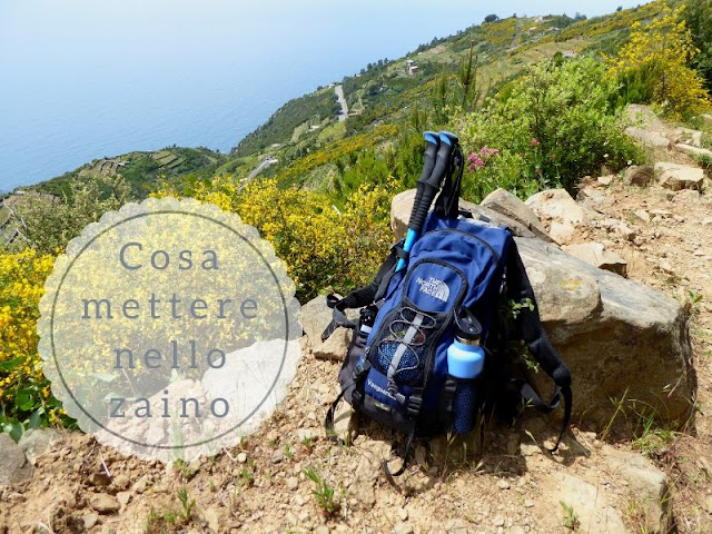 Cosa mettere nello zaino da trekking - panorama della Cinque Terre