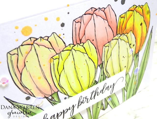 Dana Warren - Kraft Paper Stamps - Graciellie Designs