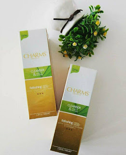 CHARMS CLEANSER & MAKEUP REMOVER