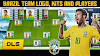 How To Create Brazil  National Football Team Logo, Kits & Players in Dream League Soccer 2019